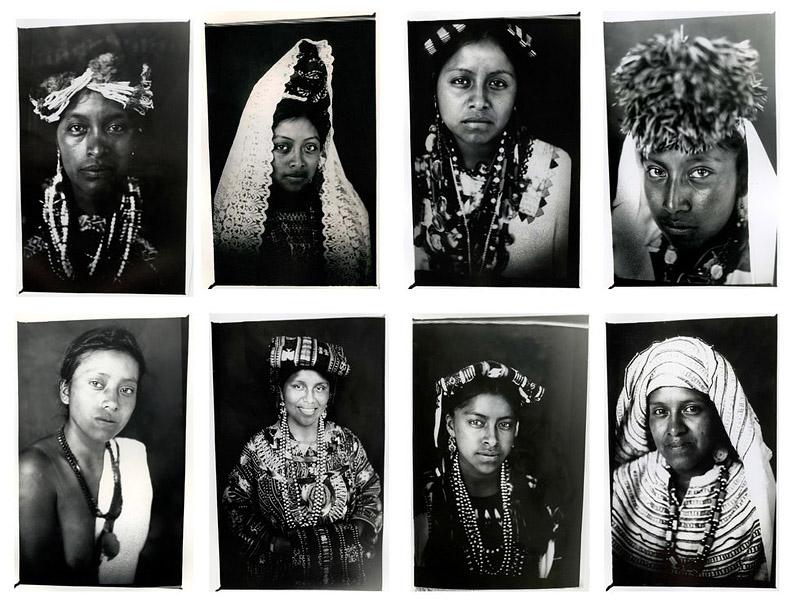 BIGPIC81 Портреты девушек народа майя