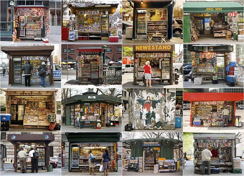 BIGPIC82 Уличная торговля Нью Йорка