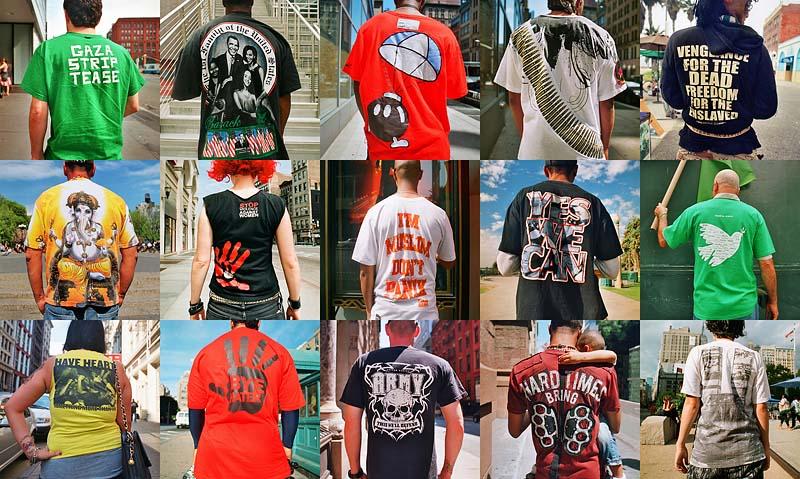 «Говорящие» футболки