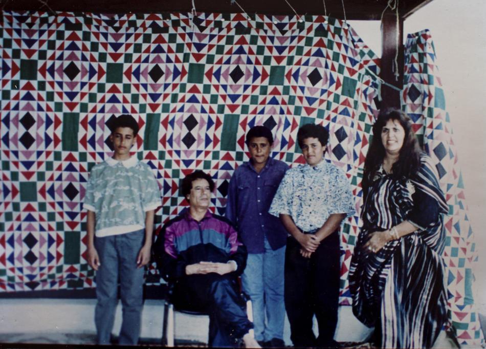 IMAGES02 Фотографии из семейного альбома полковника Каддафи