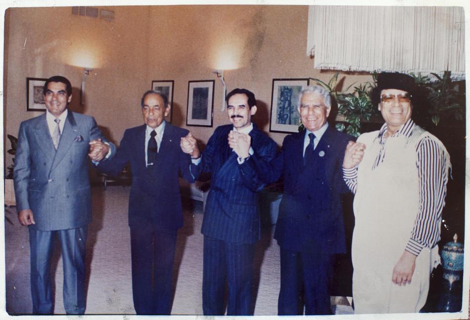 IMAGES04 Фотографии из семейного альбома полковника Каддафи