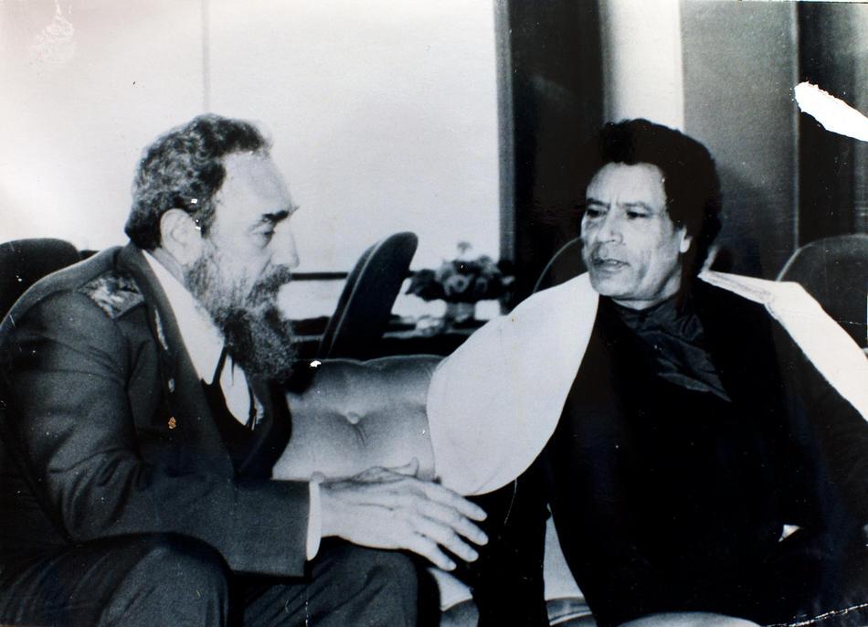 IMAGES11 Фотографии из семейного альбома полковника Каддафи