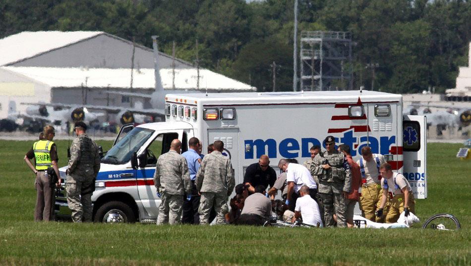 avia06 Смерть американского каскадера на авиашоу