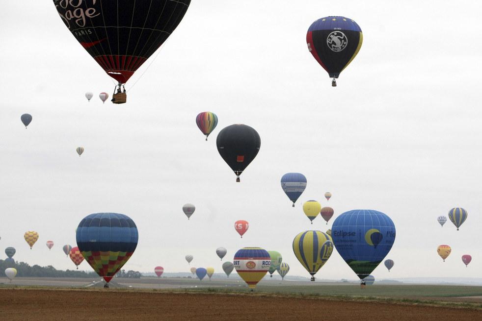 balloon1 Фестивали воздушных шаров во Франции и США