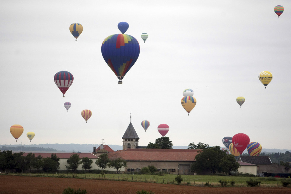 balloon2 Фестивали воздушных шаров во Франции и США