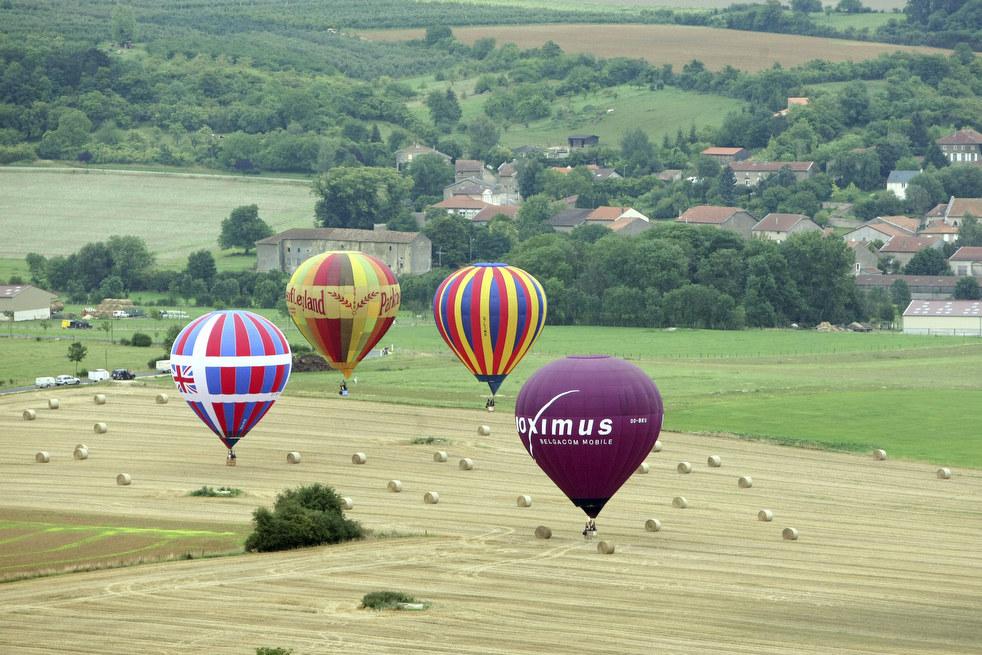 balloon3 Фестивали воздушных шаров во Франции и США