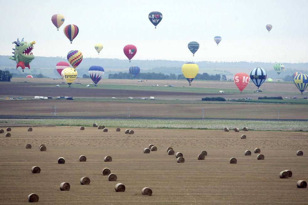 balloon4 Фестивали воздушных шаров во Франции и США
