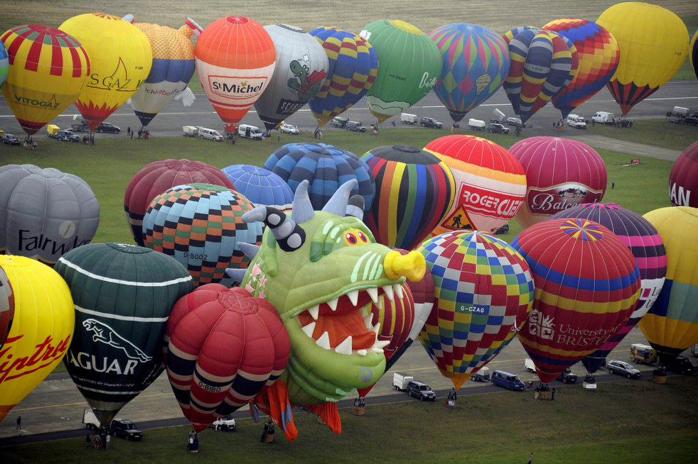 Фестивали воздушных шаров во Франции и США