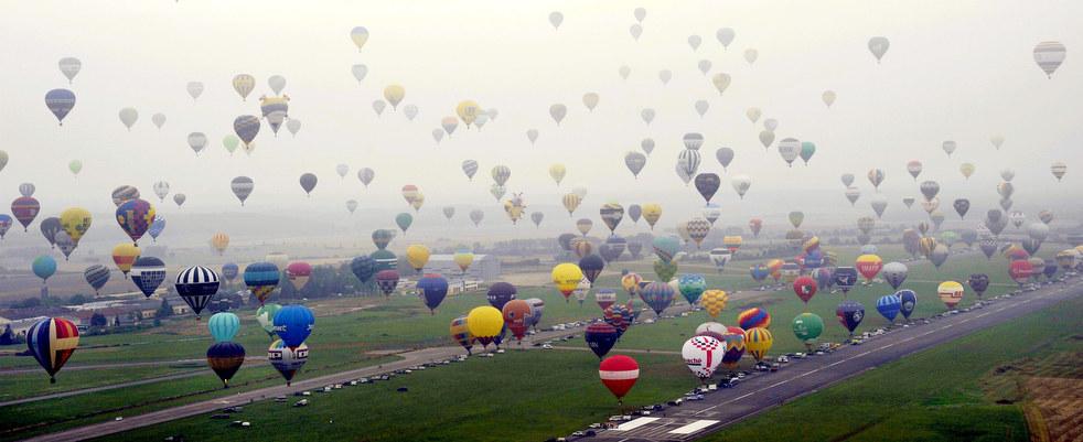 balloon6 Фестивали воздушных шаров во Франции и США