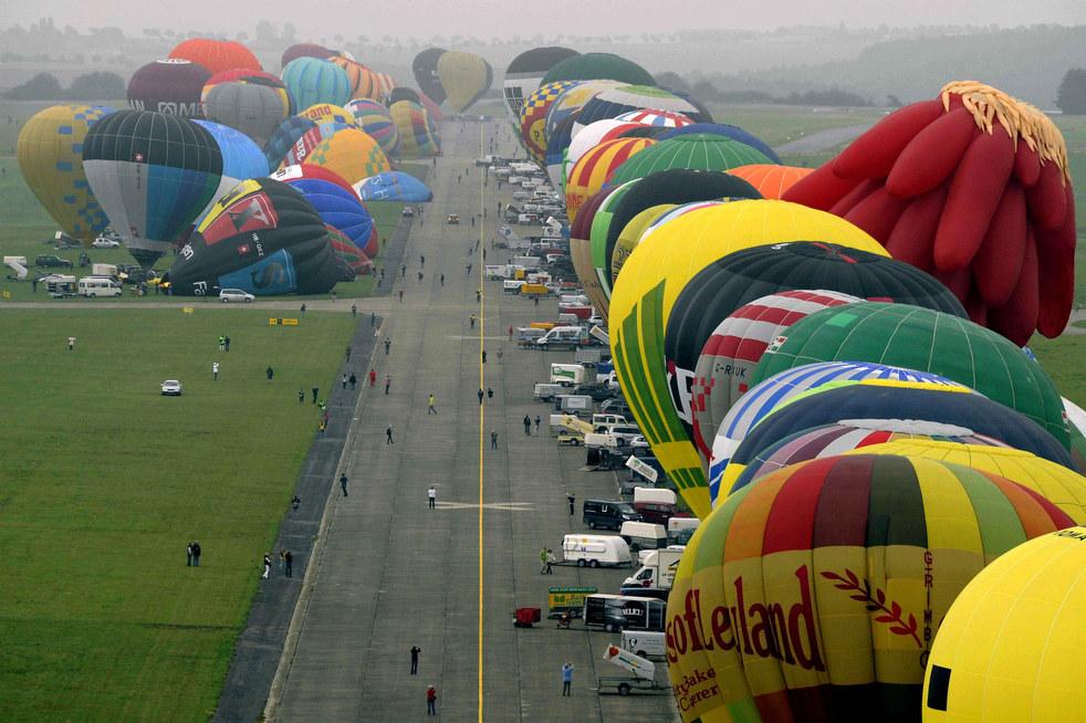 balloon7 Фестивали воздушных шаров во Франции и США