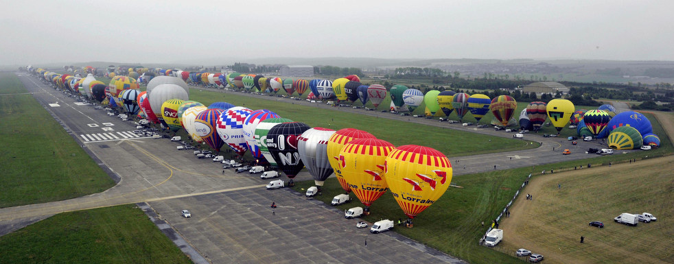 balloon8 Фестивали воздушных шаров во Франции и США