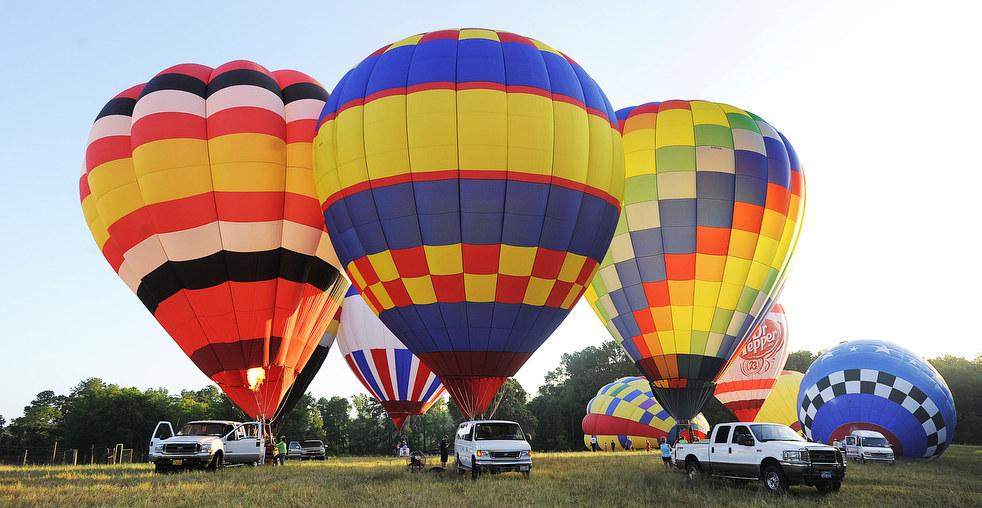 balloon9 Фестивали воздушных шаров во Франции и США