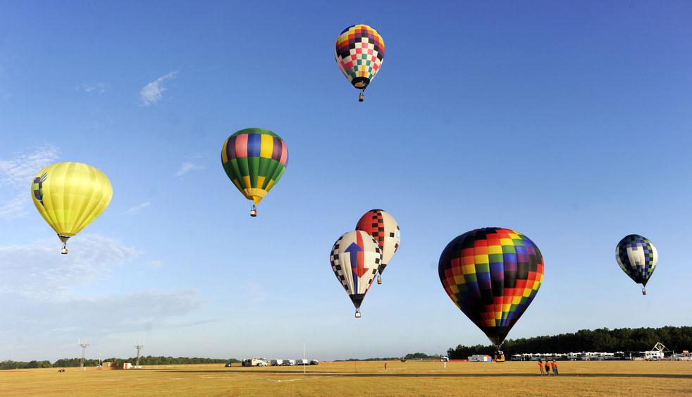 balloonA Фестивали воздушных шаров во Франции и США