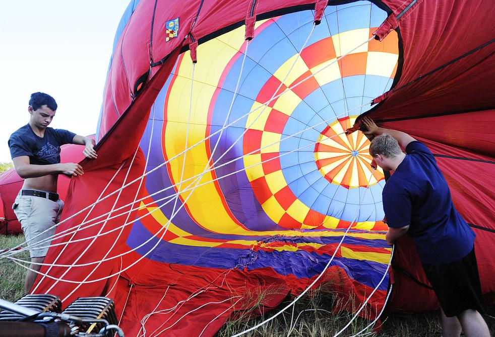 balloonB Фестивали воздушных шаров во Франции и США