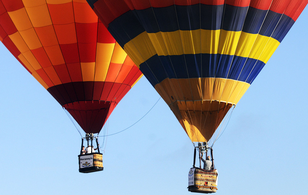 balloonC Фестивали воздушных шаров во Франции и США