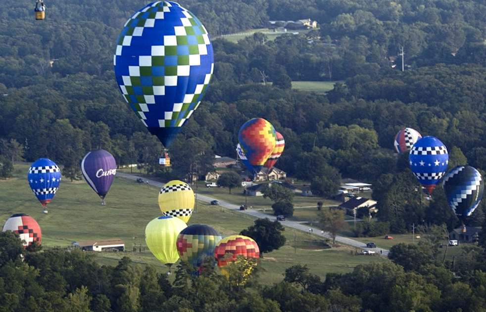balloonE Фестивали воздушных шаров во Франции и США