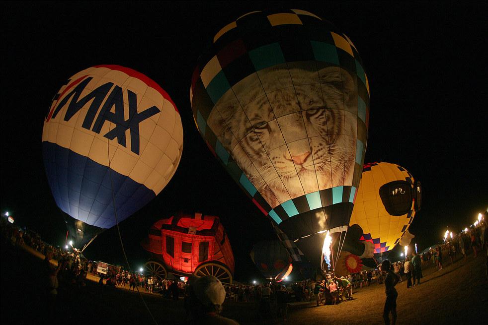 balloonF Фестивали воздушных шаров во Франции и США