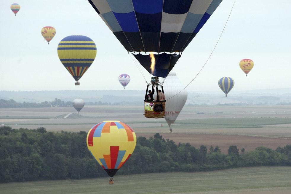balloon Фестивали воздушных шаров во Франции и США