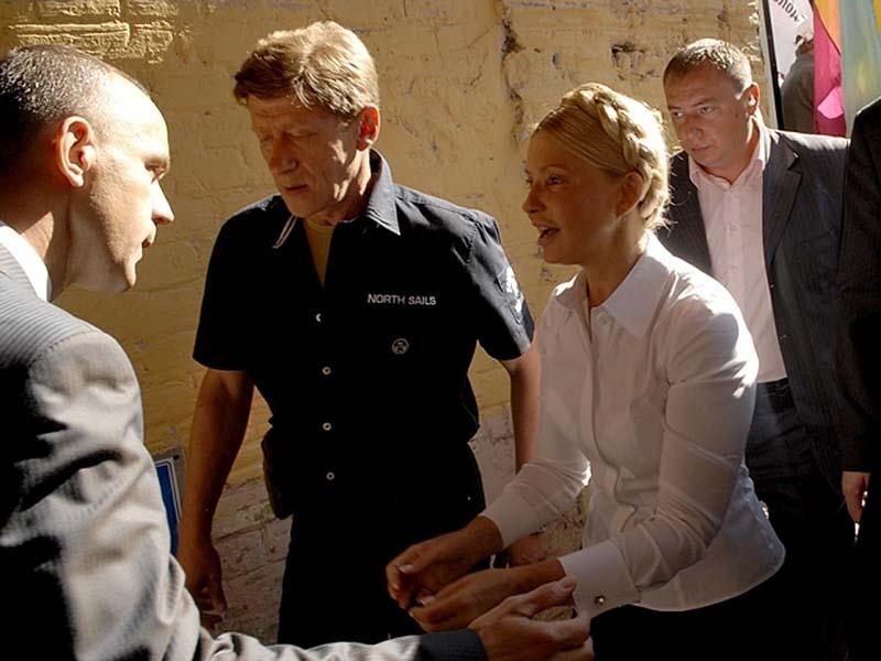 boy6584 Юлия Тимошенко арестована