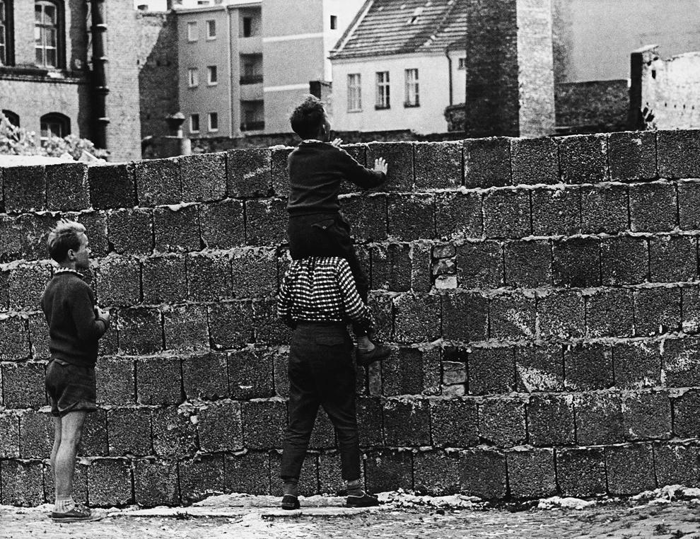 bp042 50 лет с момента строительства Берлинской стены