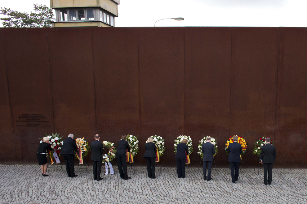 bp052 50 лет с момента строительства Берлинской стены