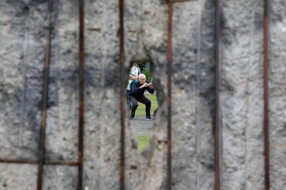 bp072 50 лет с момента строительства Берлинской стены