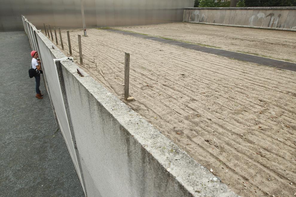 bp092 50 лет с момента строительства Берлинской стены