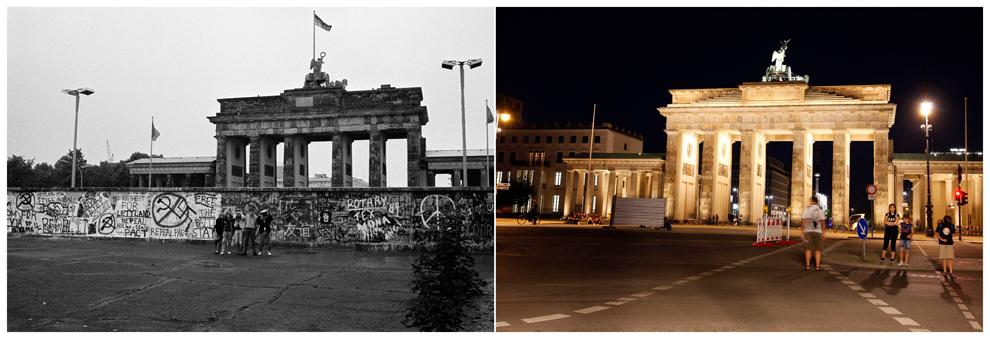 bp112 50 лет с момента строительства Берлинской стены