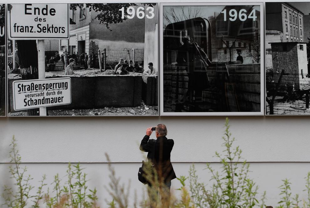 bp122 50 лет с момента строительства Берлинской стены