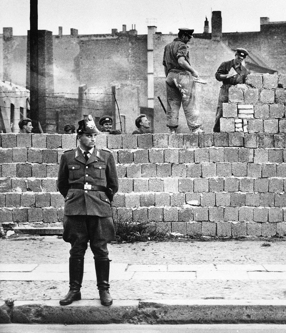 bp132 50 лет с момента строительства Берлинской стены