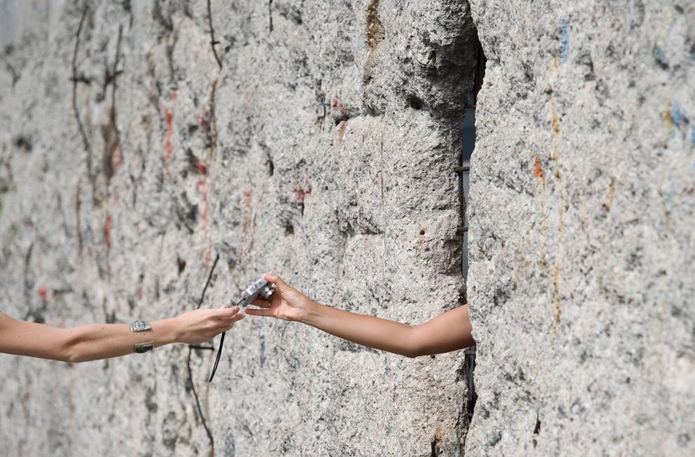bp152 50 лет с момента строительства Берлинской стены
