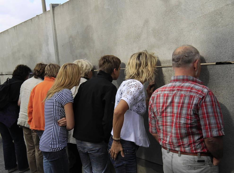bp182 50 лет с момента строительства Берлинской стены