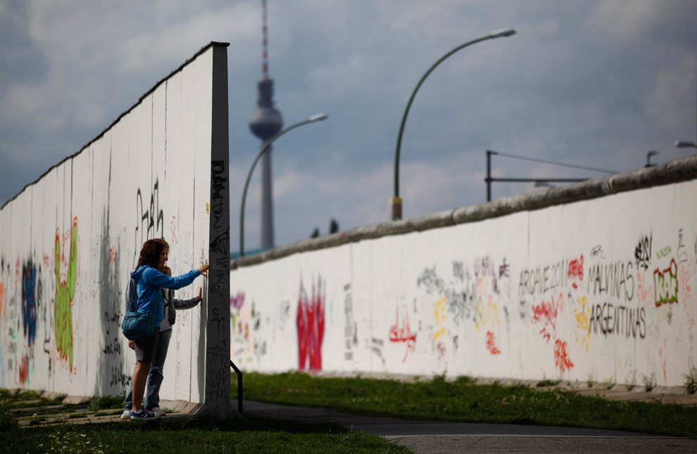 bp192 50 лет с момента строительства Берлинской стены