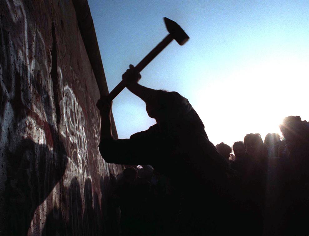 bp212 50 лет с момента строительства Берлинской стены