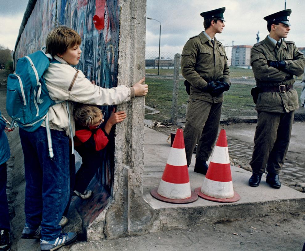 bp232 50 лет с момента строительства Берлинской стены