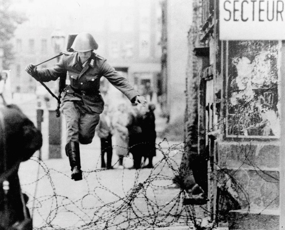 bp252 50 лет с момента строительства Берлинской стены