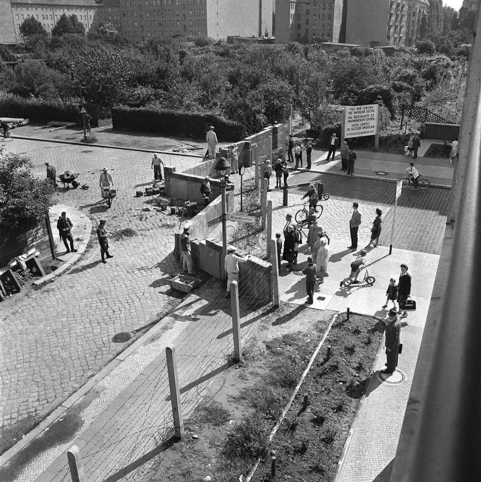 bp271 50 лет с момента строительства Берлинской стены
