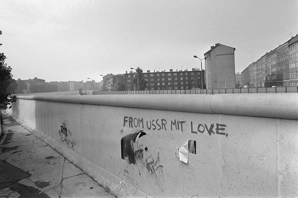 bp281 50 лет с момента строительства Берлинской стены
