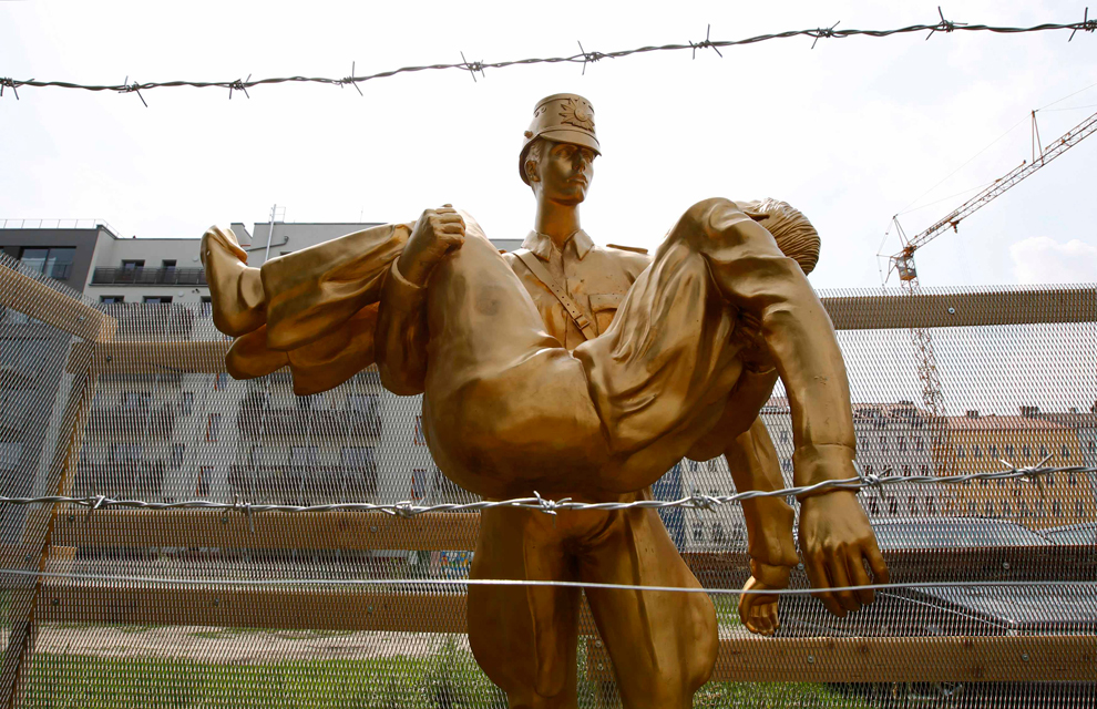 bp301 50 лет с момента строительства Берлинской стены