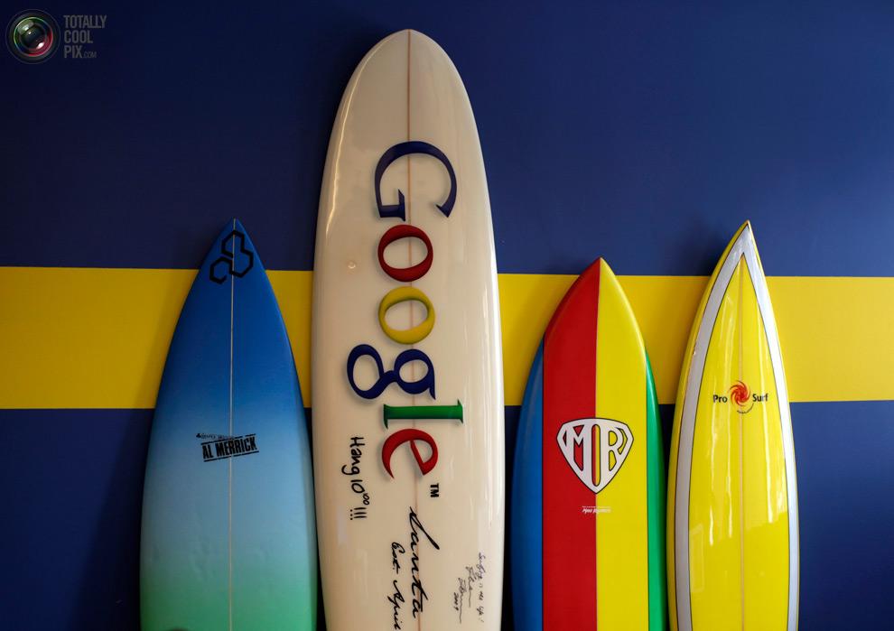 google01 Офис мечты: Работа в компании Google