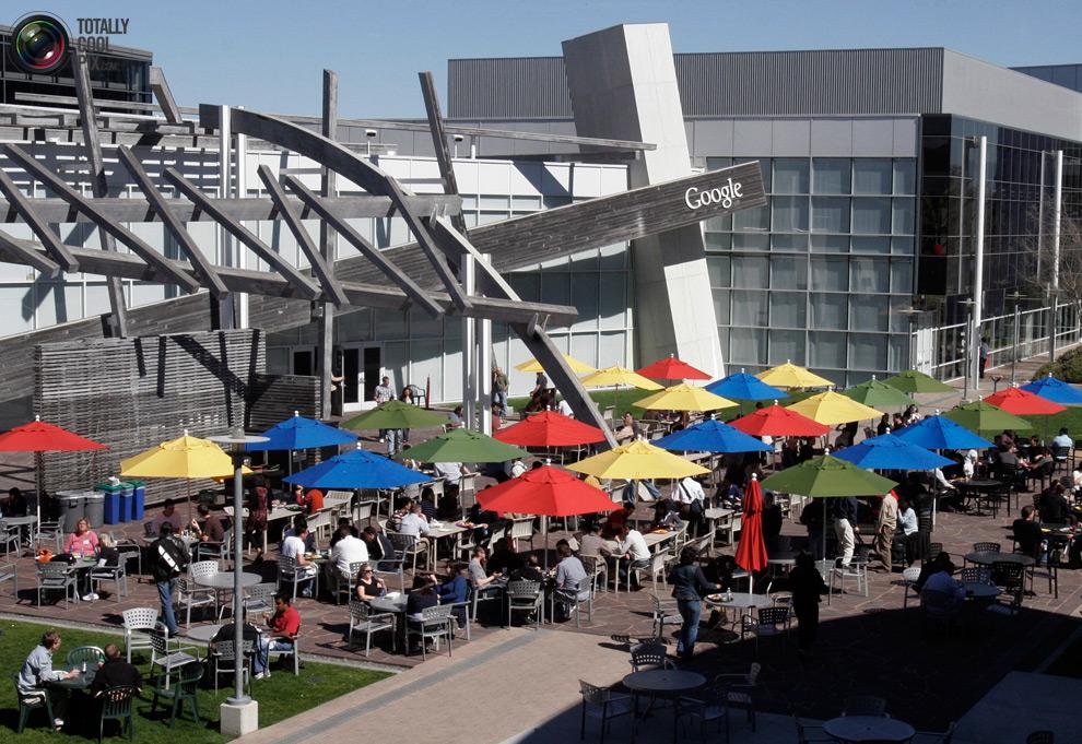 google02 Офис мечты: Работа в компании Google