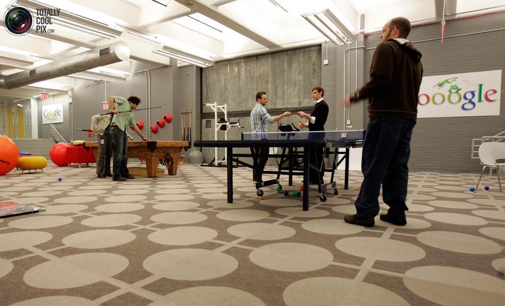 google04 Офис мечты: Работа в компании Google