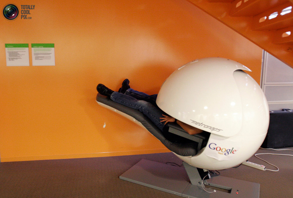 Kantor google09 mimpi: Bekerja di Google