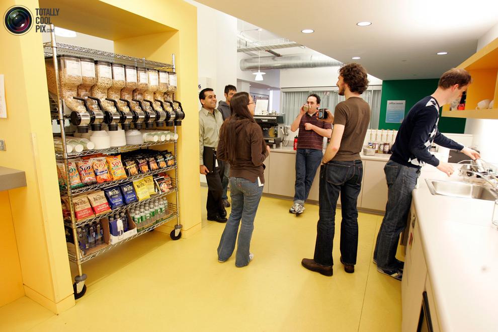 google10 Офис мечты: Работа в компании Google