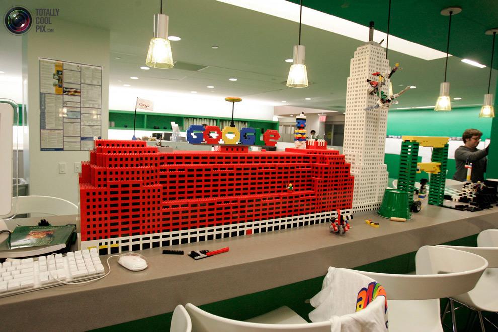 google11 Офис мечты: Работа в компании Google