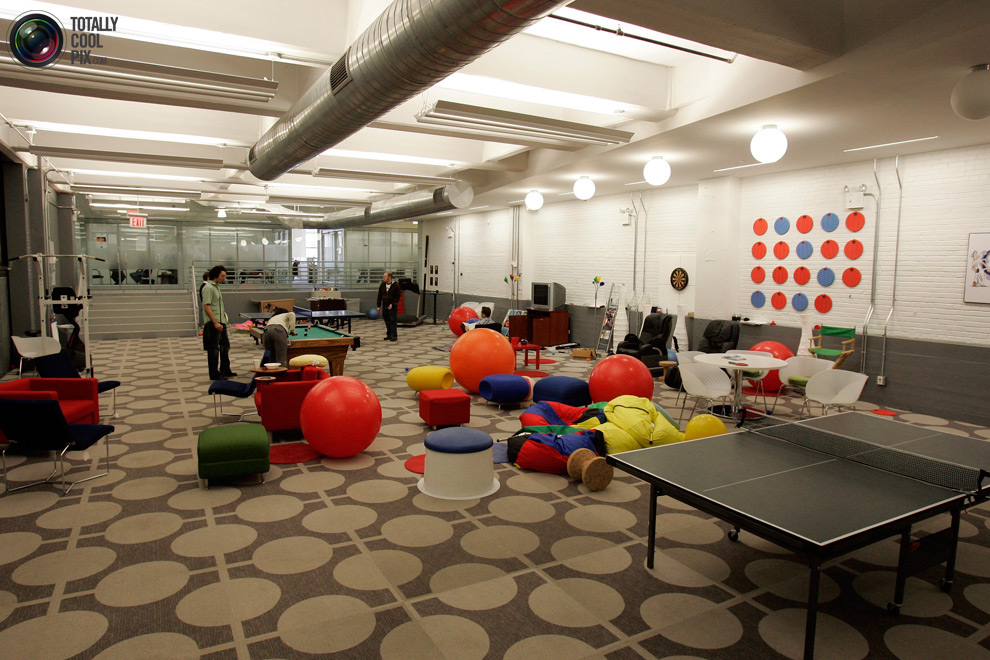 google12 Офис мечты: Работа в компании Google