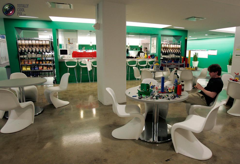 Kantor google16 mimpi: Bekerja di Google