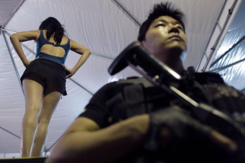 Конкурс красоты в бразильской женской тюрьме