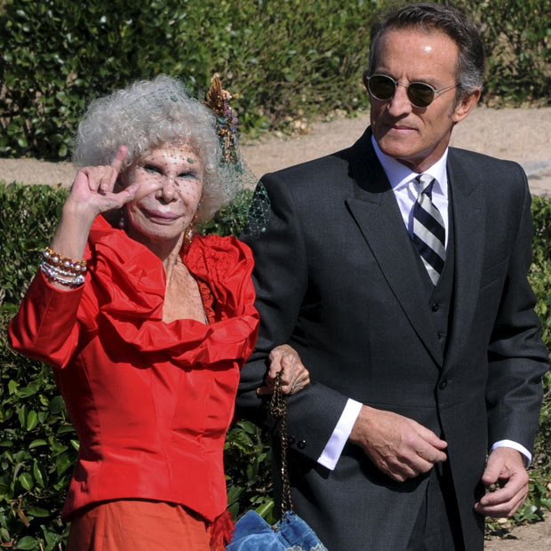 photo019 85 летняя Герцогиня Альба снова выходит замуж