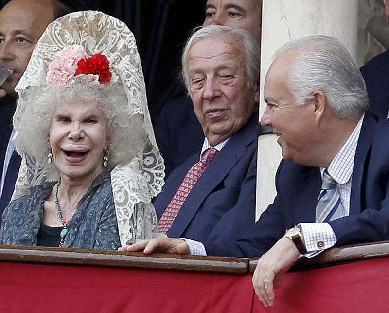 photo039 85 летняя Герцогиня Альба снова выходит замуж